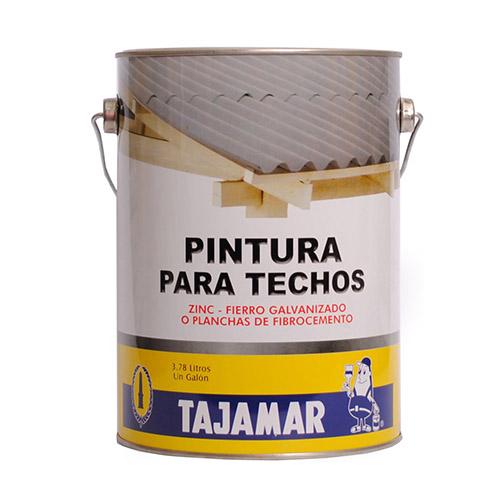 PINTURA TECHOS GAL VERDE TAJAMAR