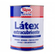 LATEX  1/4 GAL. BLANCO EXTRA CUBRIENTE SIPA