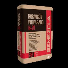 PRE MEZCLA HORMIGON GRAVILLA 25KG H20 BEMEZCLA