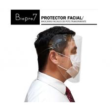 MASCARA PROTECTOR FACIAL TRANSPARENTEPACK-3UN